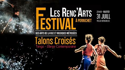 31 juillet 2018 - Les Renc'Arts Pornichet,Cie dAME, Talons Croisés
