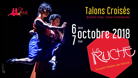 6 octobre 2018,Théâtre la Ruche, Cie dAME, Talons Croisés