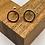 "Thumbnail: ""Serenity"" Gold Earrings"