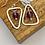 "Thumbnail: ""Converse 1"" Handmade Silver Earrings"