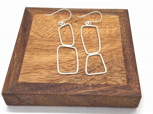 """""""Delight"""" Silver Earrings"""