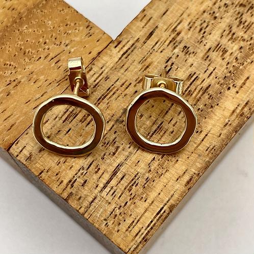 """Serenity"" Gold Earrings"
