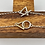 """Thumbnail: """"Entwining"""" Handmade Silver and Gold Bracelet"""