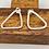 "Thumbnail: ""Mirror"" Sterling Silver Handmade Earrings"