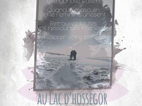 Séance en duo de sophrologie et hypnose par David Masset et Bénédicte Voisin.
