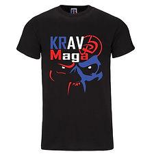 tshirt officiel du club de krav maga et self defense de David Masset pour le pays basque et St Gaudens