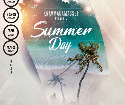 Stage d'été de Krav Maga et Sophrologie à Capbreton par David Masset