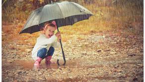 Le bonheur n'est pas toujours dans un ciel éternellement bleu, mais dans les choses les plus simple.