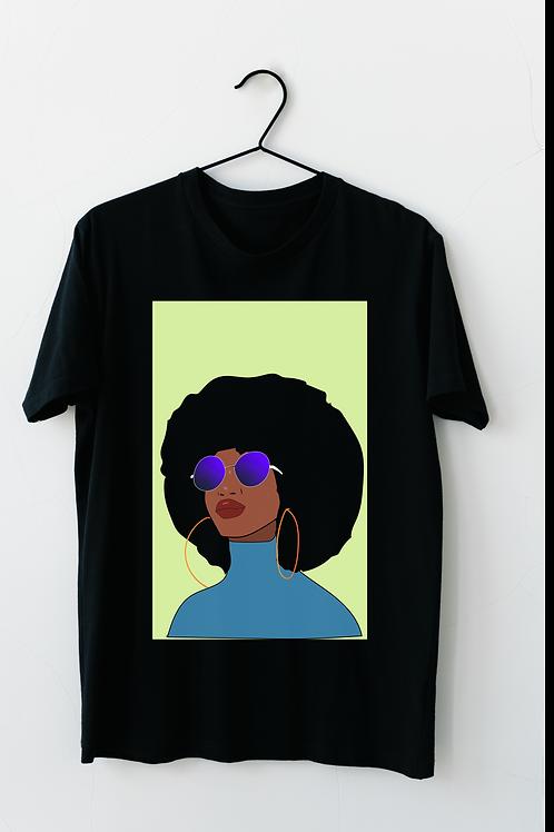 Afro Woman Tee