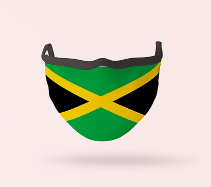Jamaican Flag Mask