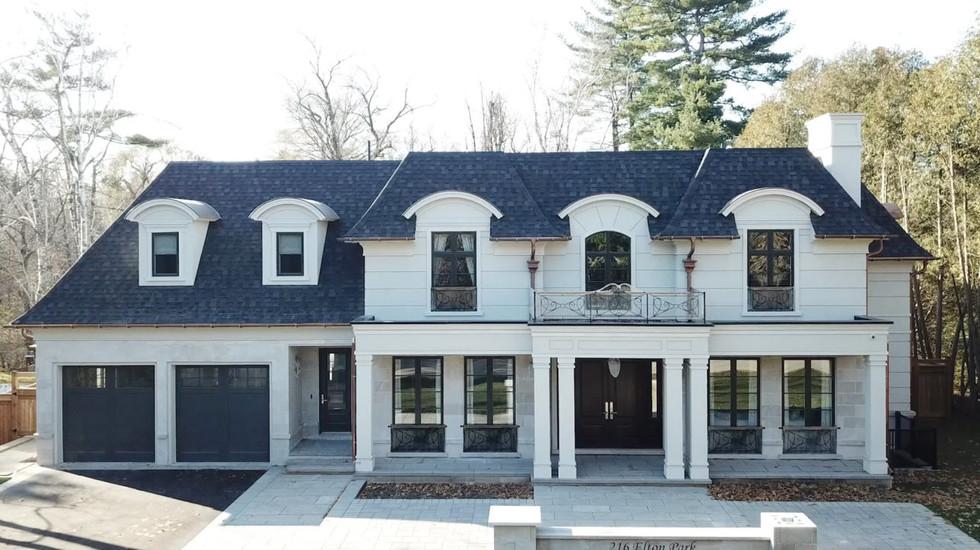 """216 Elton Park Road – The """"Symmetrical House"""""""