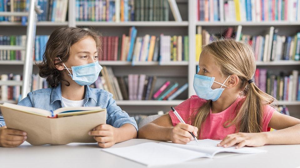 kids-doing-their-homework-while-wearing-