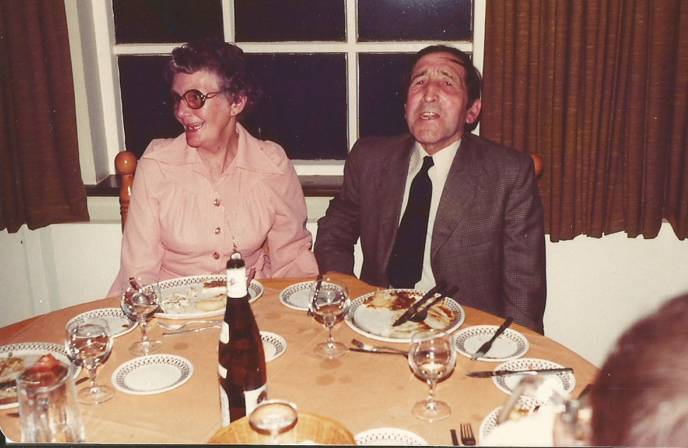 Grandma Nancy and Grandad Cecil in 1981