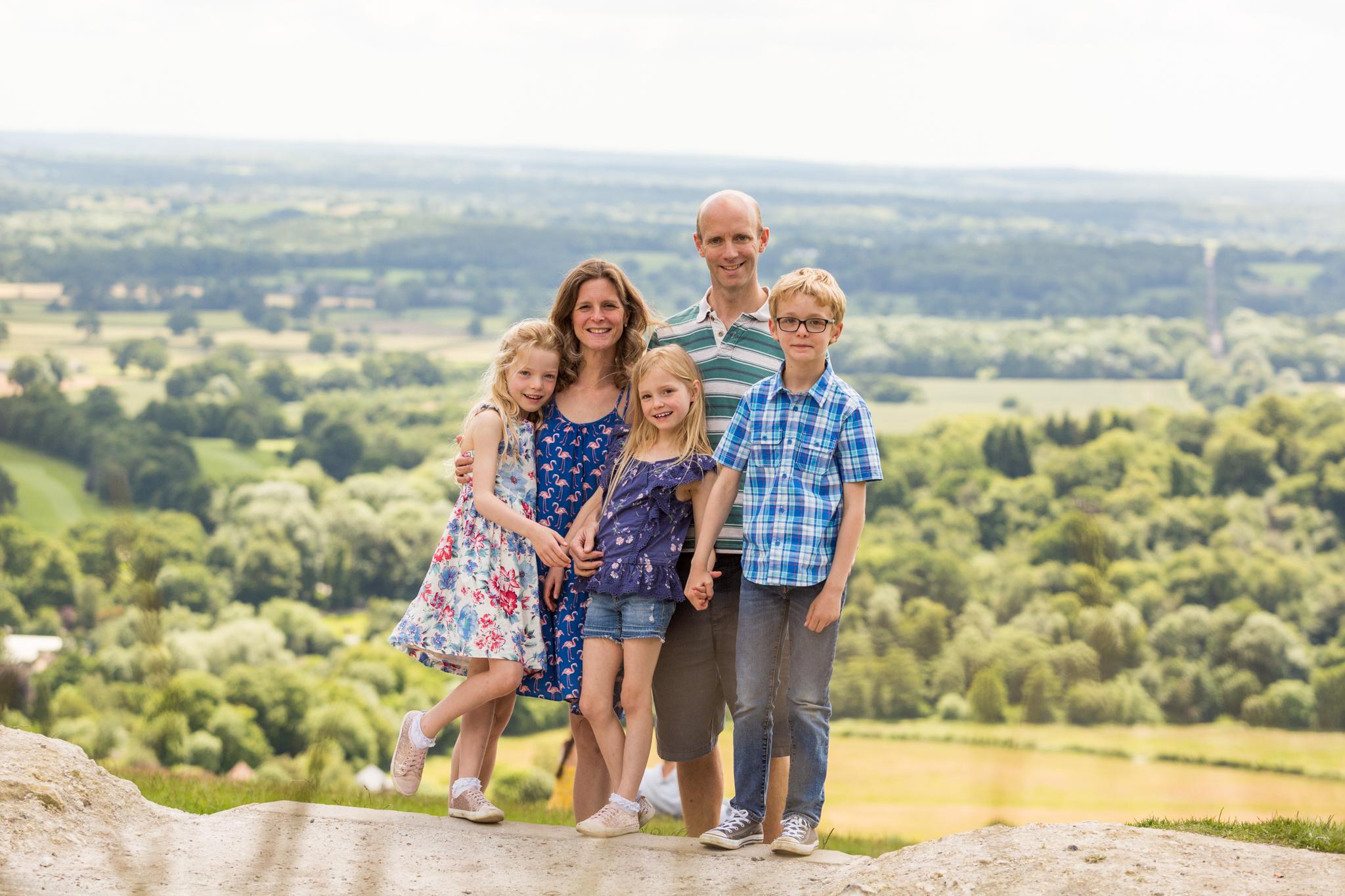 Family Portrait on Box Hill