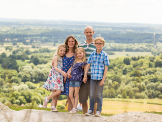 National Trust Mothers' Day Family Portrait Sessions at Box Hill, Spring 2020