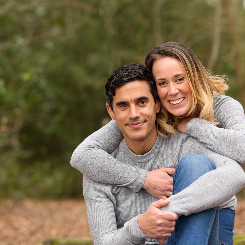 Couples Portrait Box Hill