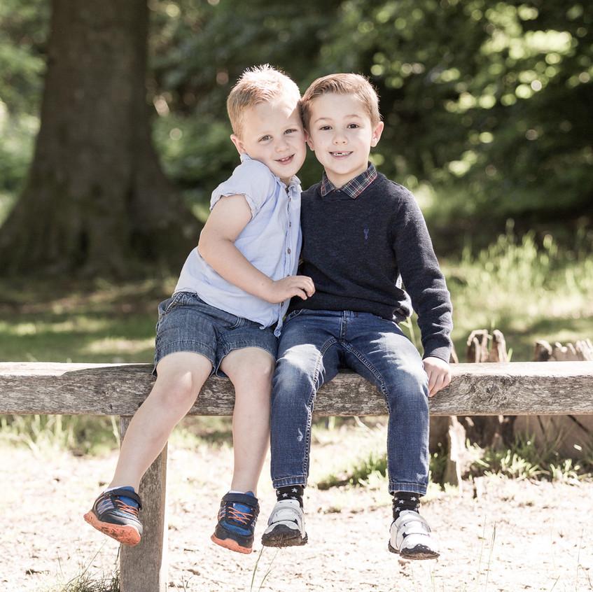 Brothers Portrait Box Hill
