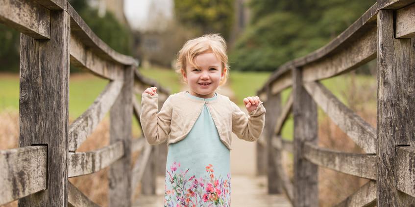 Child Portrait at Ashdown Park