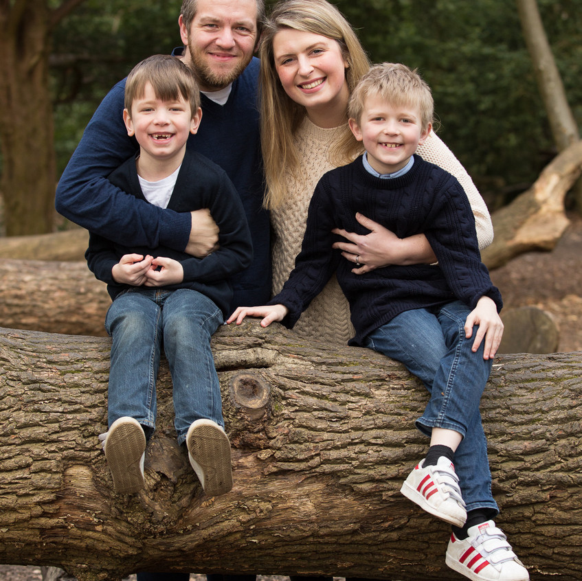 Family Portrait Box Hill Spring