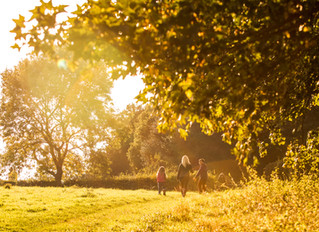 The Golden Hour... on location in Oxfordshire