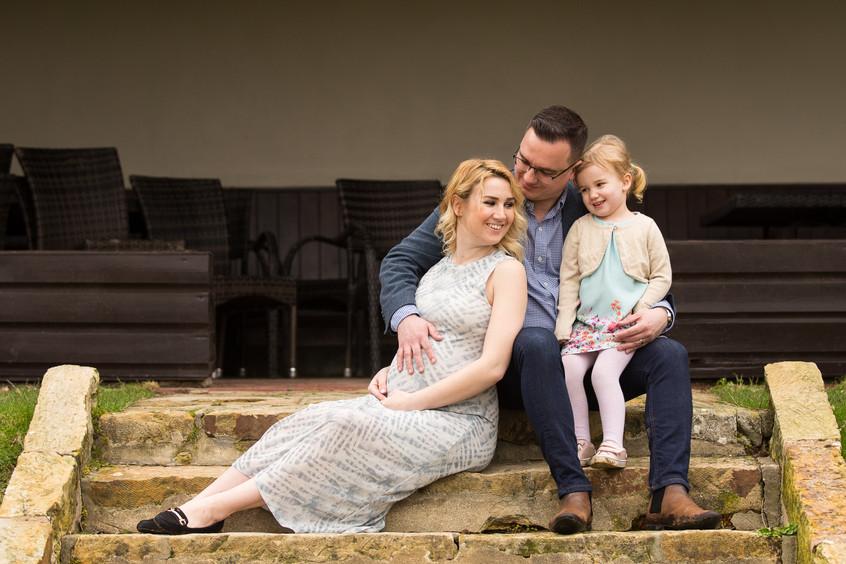 Ashdown Park Maternity Family Photo