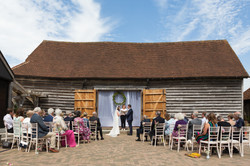 Wedding_Ceremony_Old_Greens_Barn_Newdigate_Surrey_Wedding_Photographer_Rachel_Thornhill_Photography
