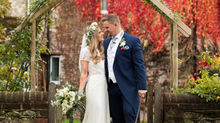 Steph and Andy's beautiful Autumnal Wedding at the Tithe Barn, Petersfield, Hampshire