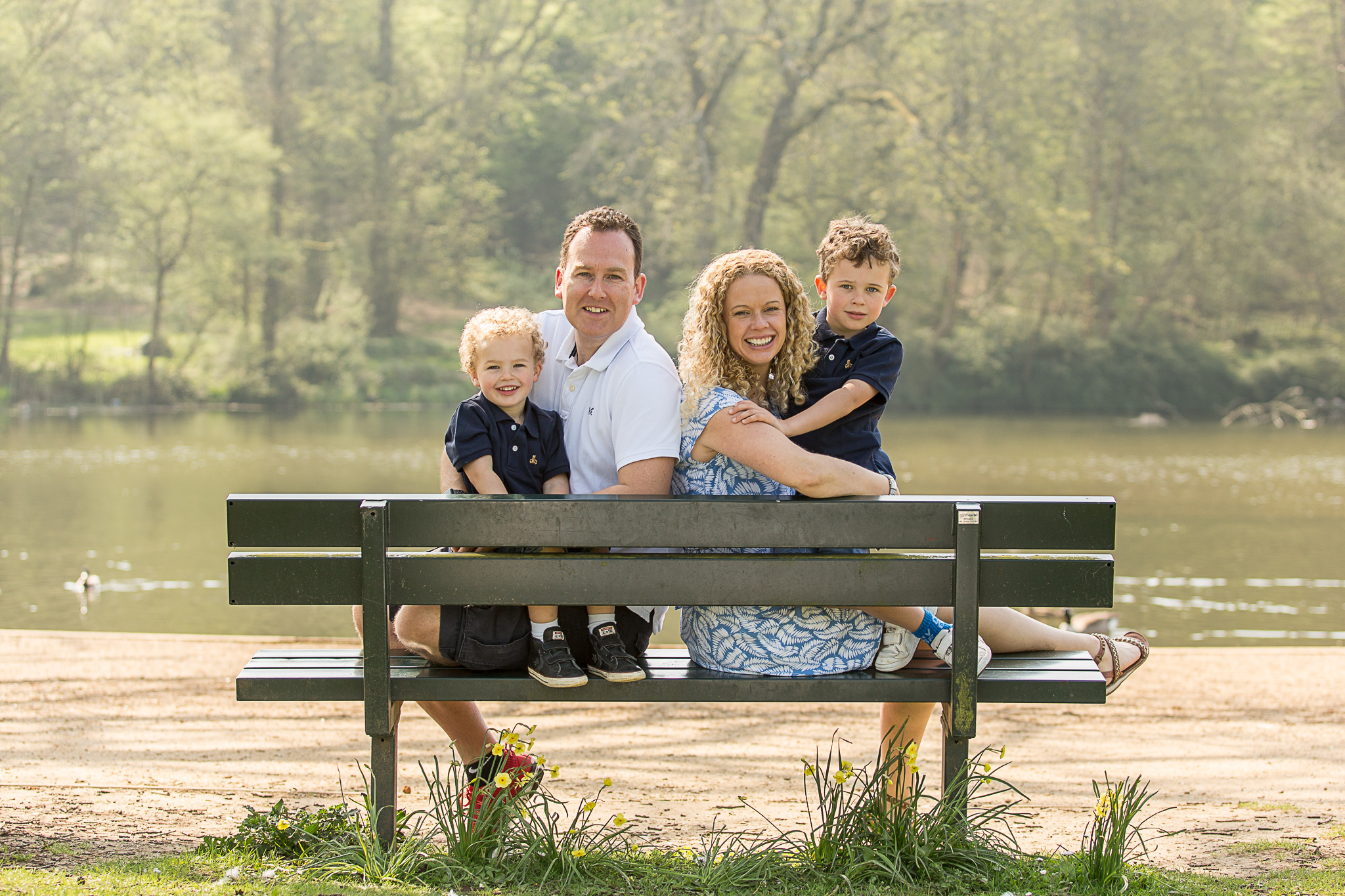 Family Portrait at Priory Park