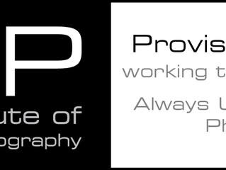 BIPP Provisional Membership!