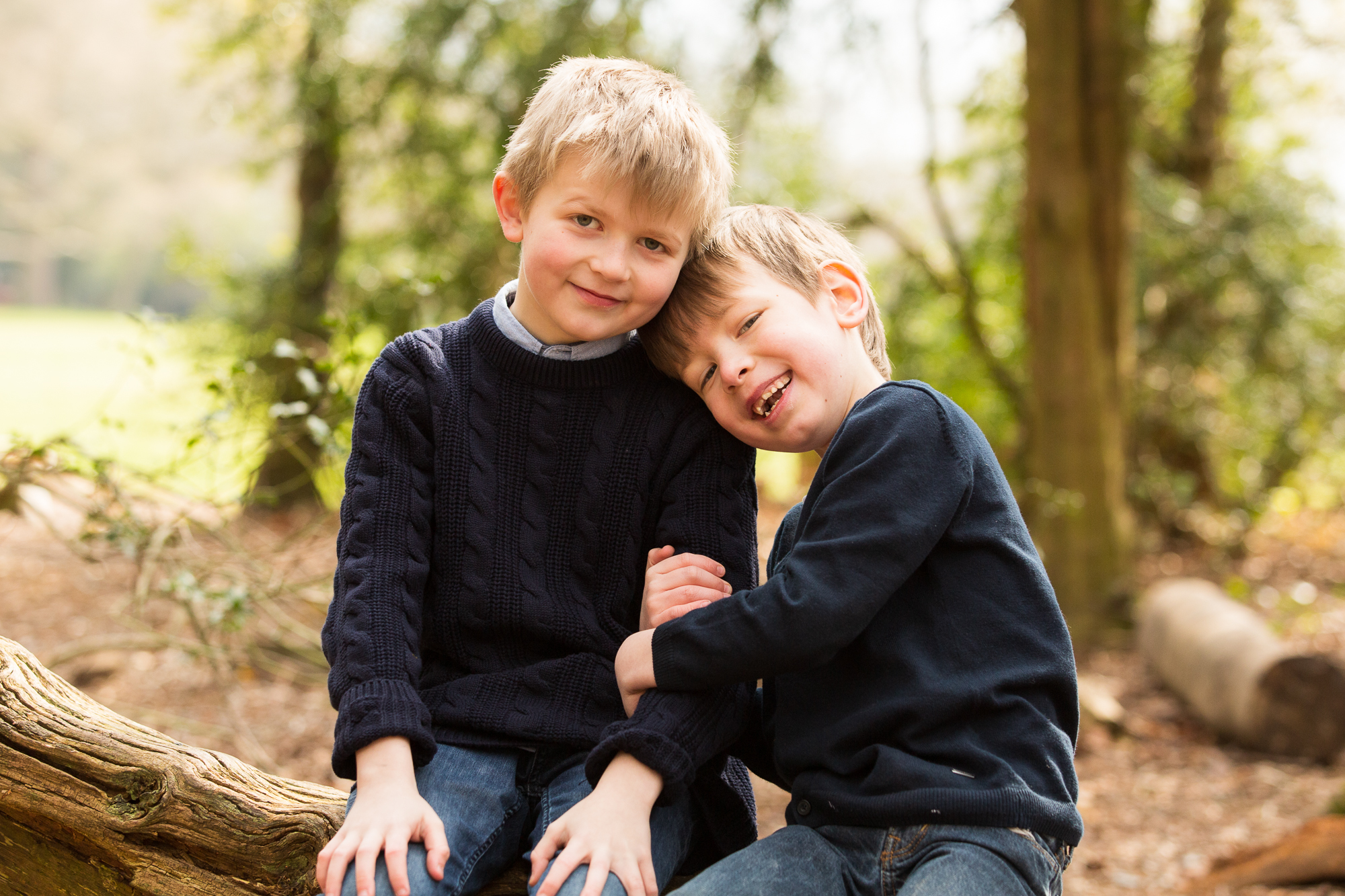 Brothers Portrait on Box Hill