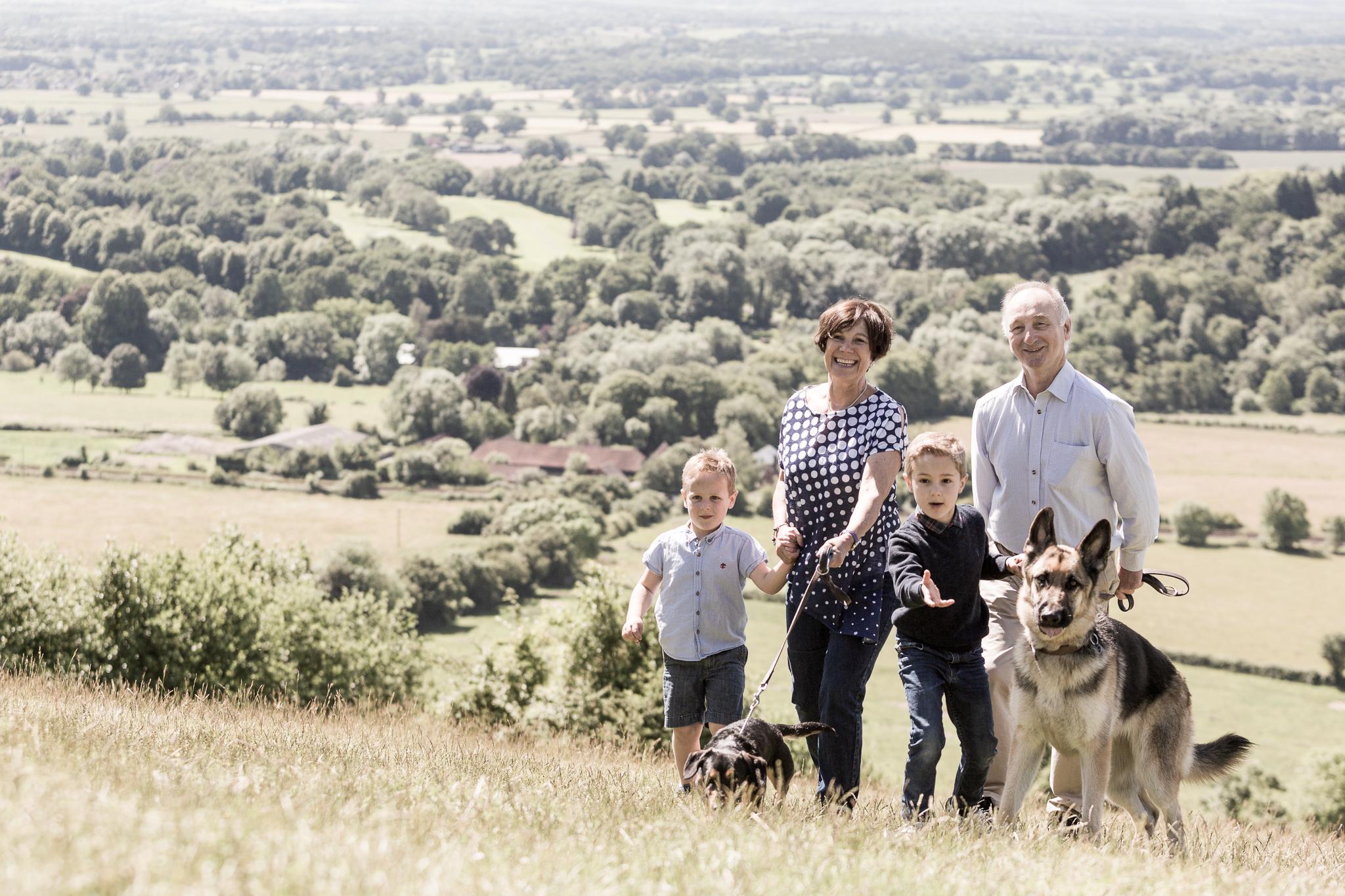 Grandparents Grandchildren Box Hill