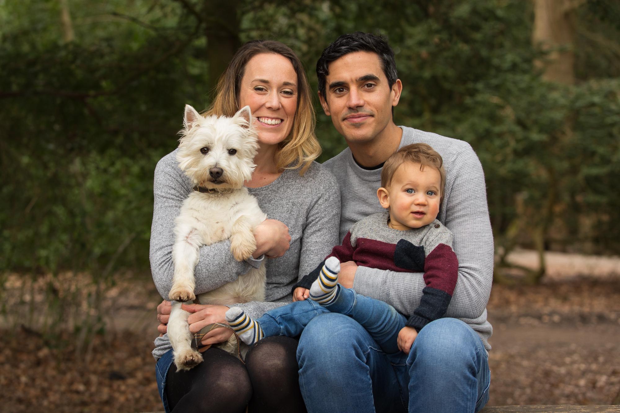 Family Portrait at Box Hill