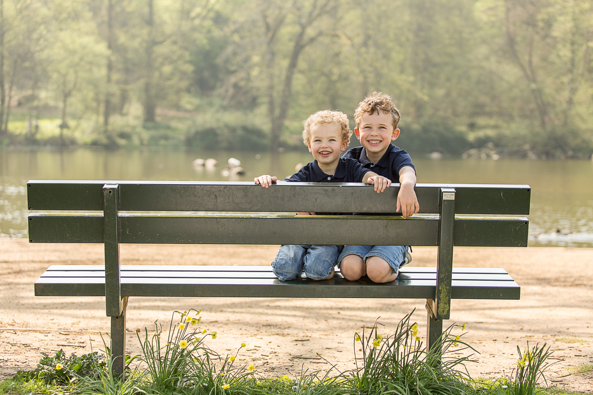 Brothers at Priory Park