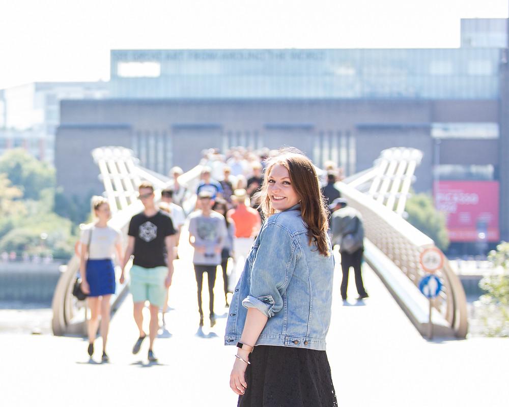 Lucy Zirins Millenium Bridge