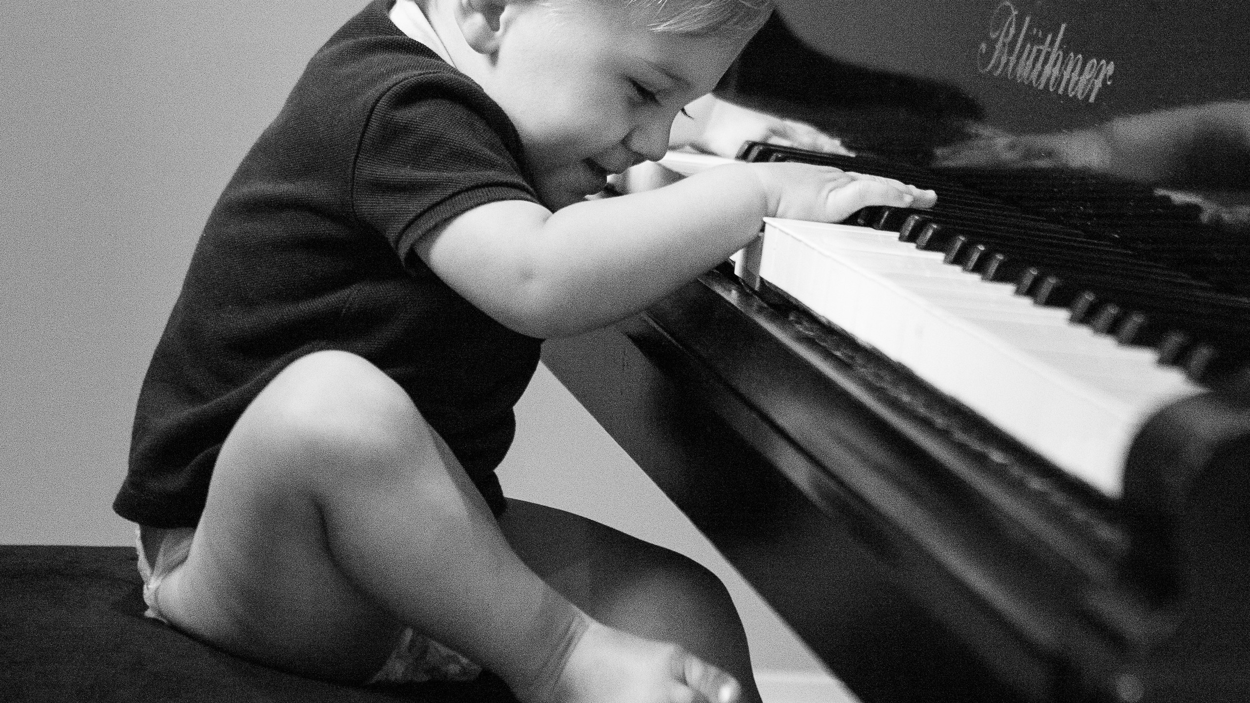 Toddler Lifestyle Photoshoot Piano