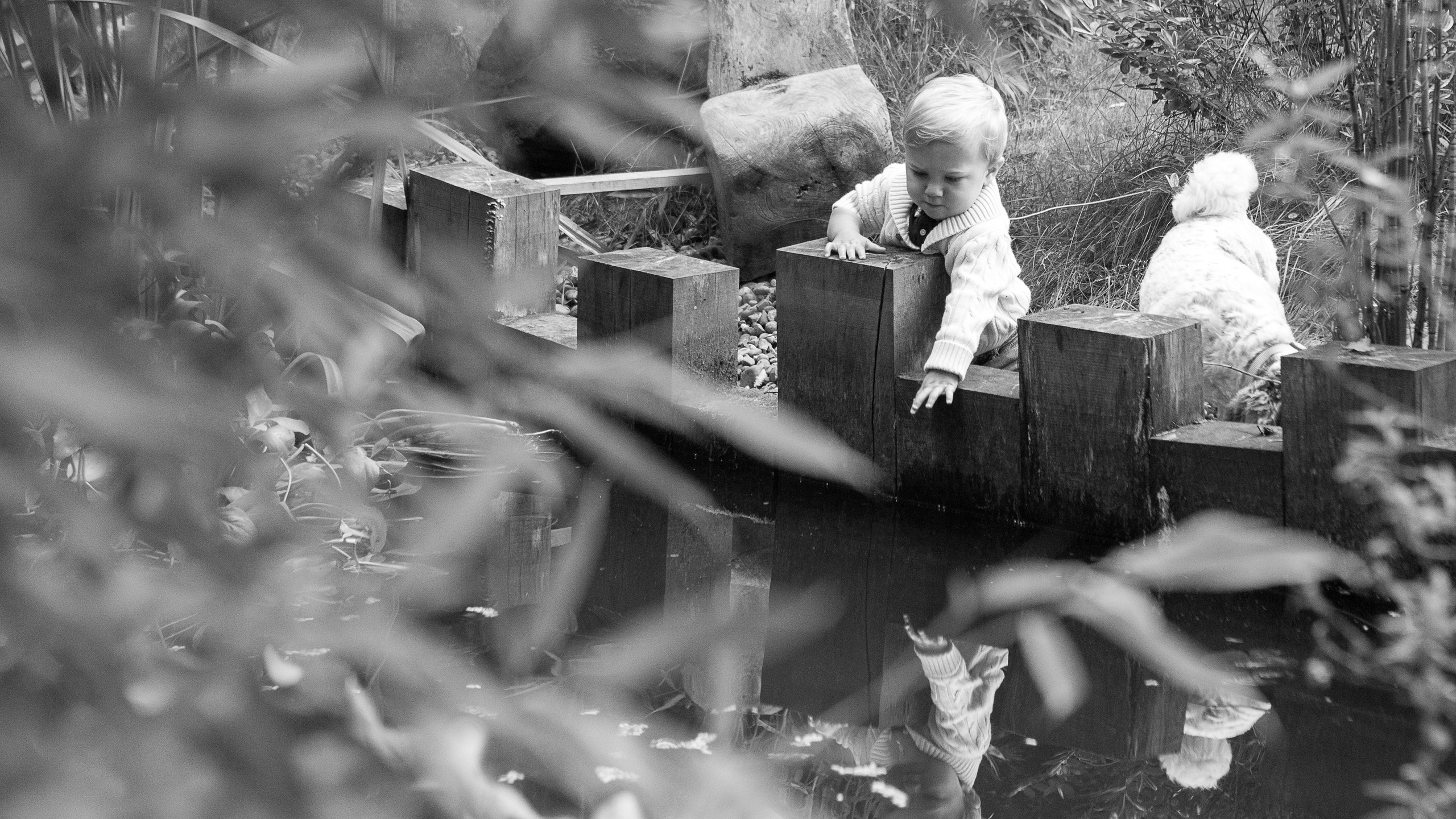 Toddler Lifestyle Photoshoot Pond