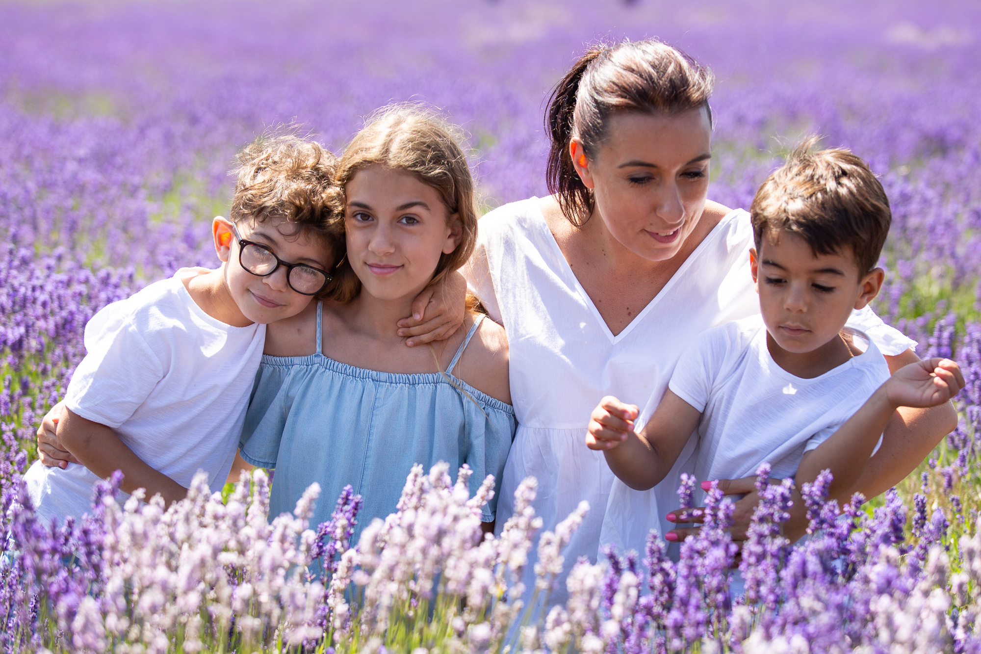 Lavender Family Photoshoot Clothing