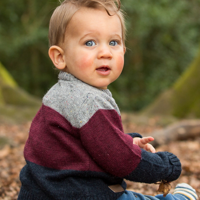 Toddler Outdoor Portrait Box Hill