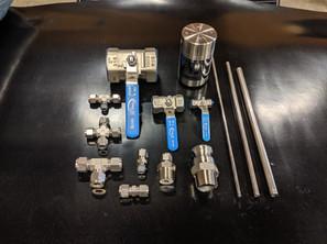 Valves, Fittings & Tubing