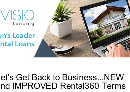 Lending Update For Visio 30 Year Loans