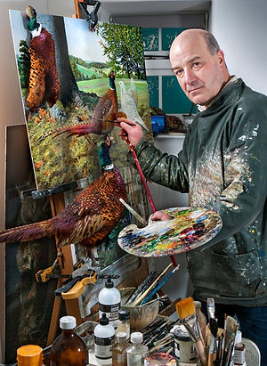Wildlife-Artist-Richard-Whittlestone-Der