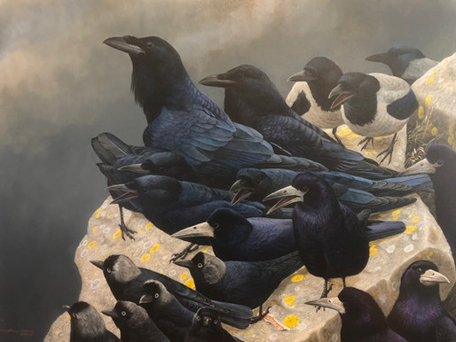 CORVID-19: New Painting