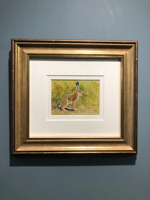 Hare Miniature by Richard Whittlestone