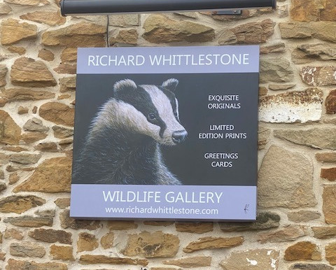 New Gallery Signage