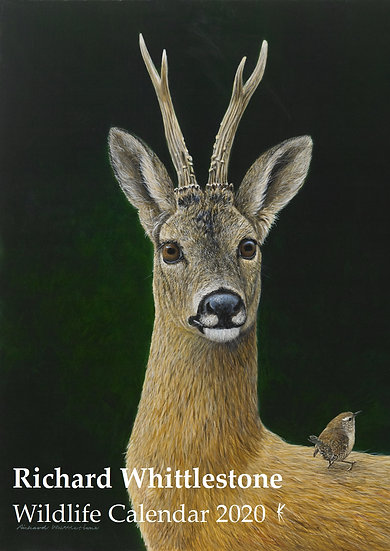 2020 Wildlife Calendar by Artist Richard Whittlestone