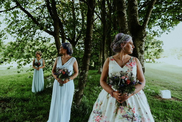 Our Bride Jacki & Bridesmaids