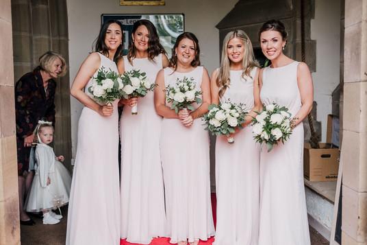Leanne's Bridesmaids