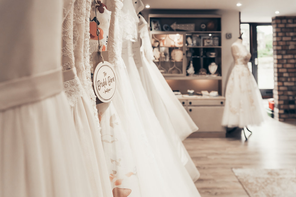 Inside The Bridal Barn Boutique
