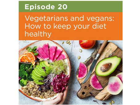 Vegetarians and vegans: How to keep your diet healthy
