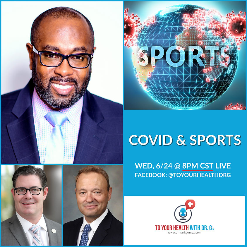 COVID & Sports | A Facebook Live Event